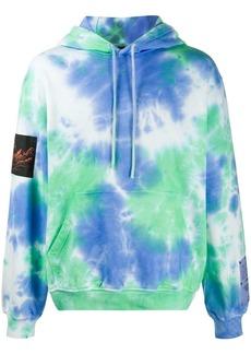 McQ tie-dye cotton hoodie
