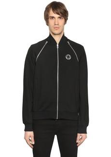 McQ Zip Shoulders Stretch Track Jacket
