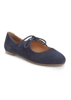Me Too Cacey Suede Mary Jane Flats