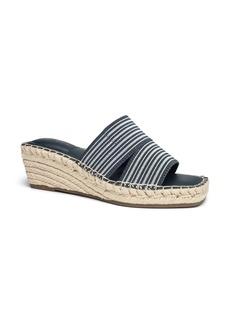 Me Too Caymen Espadrille Platform Wedge Slide Sandal (Women)