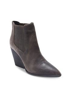 Me Too Mason Leather Wedge Booties