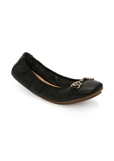 Me Too Olympia Leather Ballet Flats