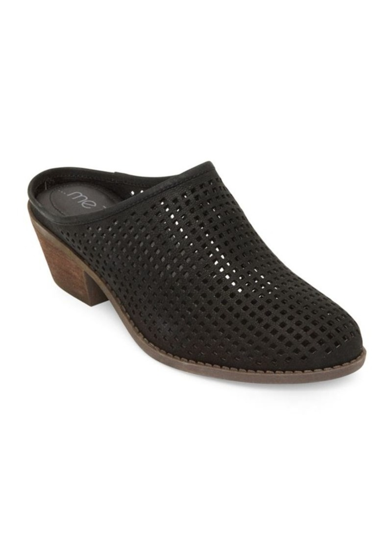 9bb8b393 Zara Perforated Leather Mules