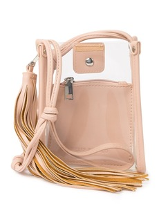 Melie Bianco Kristy Clear Crossbody Bag