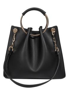 Melie Bianco Chelsea Top Handle Small Crossbody Bag