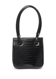 Melie Bianco Taryn Croc Embossed Shoulder Bag