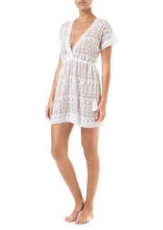 Melissa Odabash Adelina Lace A-Line Dress