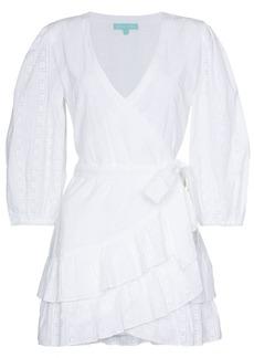Melissa Odabash Aliyah V-neck wrap dress