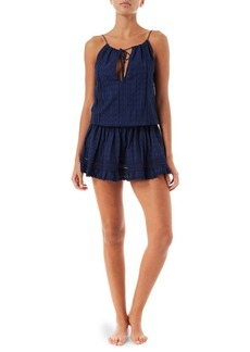 Melissa Odabash Chelsea Cotton Short Dress