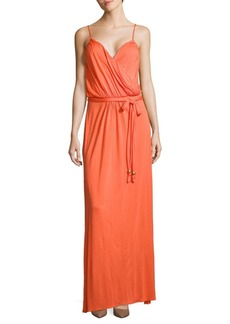 Melissa Odabash Crossover Sleeveless Maxi Dress