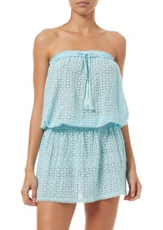 Melissa Odabash Embroidered Bandeau Beach Dress