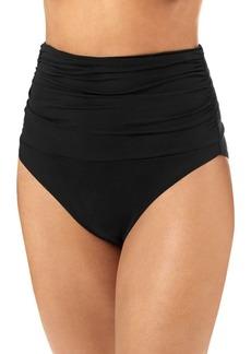Melissa Odabash Lyon High-Waist Bikini Bottom