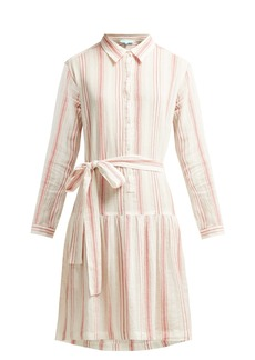 Melissa Odabash Amelia striped cotton dress