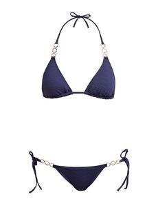 Melissa Odabash Anguilla zig-zag triangle bikini