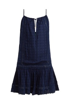 Melissa Odabash Chelsea broderie-anglaise cotton dress