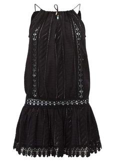 Melissa Odabash Chelsea broderie-anglaise cotton mini dress