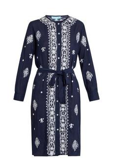 Melissa Odabash Fleur embroidered dress