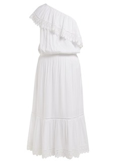 Melissa Odabash Jo lace-trim jersey dress