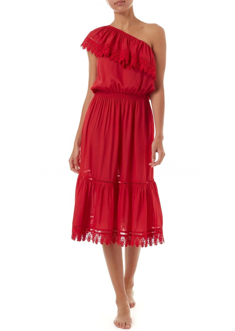 Melissa Odabash Jo One-Shoulder Cover-Up Dress