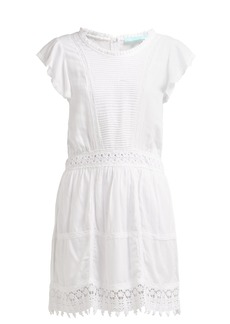 Melissa Odabash Loretta embroidered mini dress