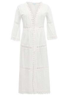 Melissa Odabash Robbi broderie-anglaise cotton dress