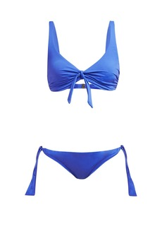 Melissa Odabash San Juan bow-embellished bikini