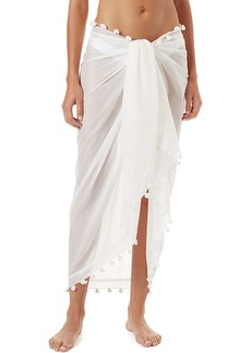 Melissa Odabash Tassel Cover-Up Pareo