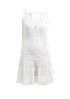 Melissa Odabash Zoe floral-embroidered mini dress