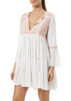 Melissa Odabash Natalia Pleated Shirt Dress