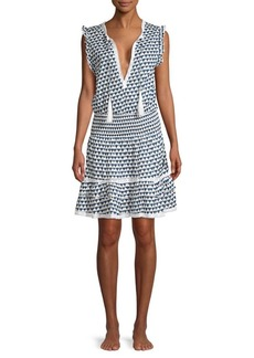 Melissa Odabash Skylar Tassel Cotton Dress