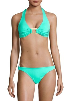 Melissa Odabash Two-Piece Halter Bikini