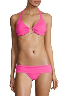 Melissa Odabash Two-Piece Halter Tie Bikini