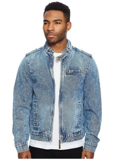 Members Only Denim Iconic Racer Jacket
