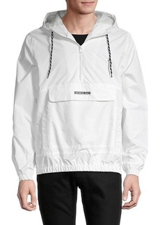 Members Only Hooded Drawstring Jacket