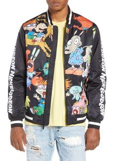 Members Only Mashup Nickelodeon Bomber Jacket