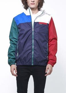 Members Only Men's Lightweight Colorblock Hooded Jacket  XL