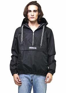 Members Only Men's Lightweight Pullover Windbreaker Jacket  L