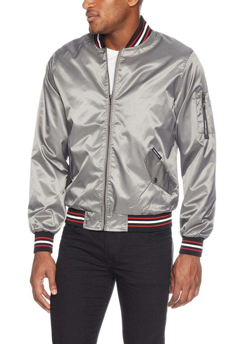 Members Only Men's Ma-1 Bomber Jacket  Extra Large