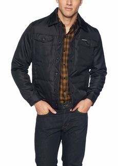 Members Only Men's Oxford Trucker Jacket  M