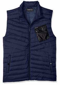 Members Only Men's Puffer Vest  M