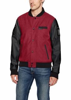 Members Only Men's Varsity Jacket  XL