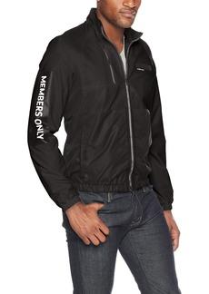 Members Only Men's Windbreaker Track Jacket