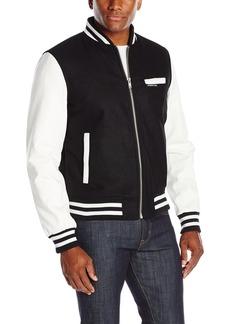 Members Only Men's Wool Varsity Jacket  XL
