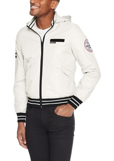 Members Only Men's Zip-Off Hooded Sail Jacket  Extra Large
