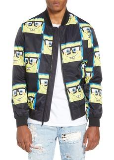 Members Only Spongebob Bomber Jacket