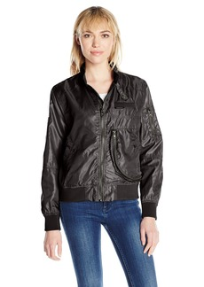 Members Only Women's Helix Iconic Racer Jacket  L