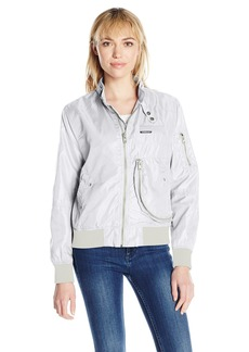 Members Only Women's Helix Iconic Racer Jacket  XL