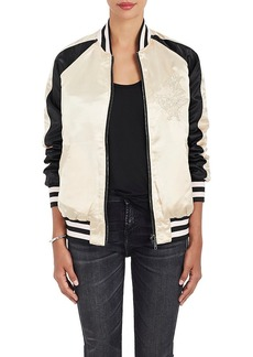 Members Only Women's Reversible Bomber Jacket