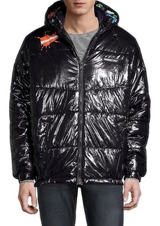 Members Only x Nickelodeon Shiny Puffer