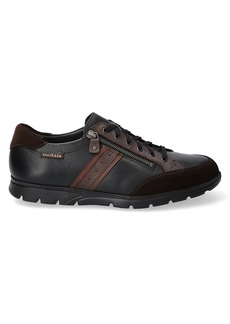 Mephisto Kristof Side Zip Leather Sneakers